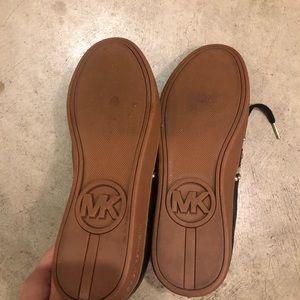Michael Kors Shoes - New Michael Kors Frankie Studded Leather Sneaker